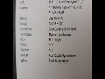Acer laptop 5541g delovi - Nis