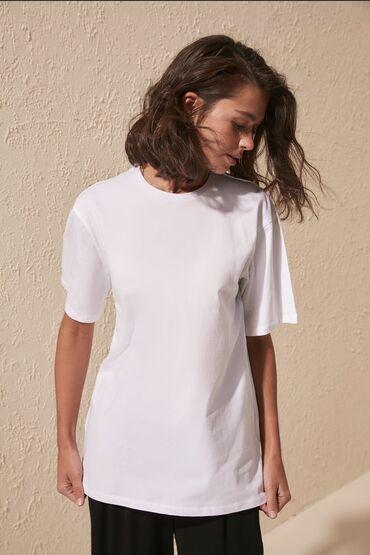 Базовая однотонная футболкаBASIC T-SHIRT 100% хлопок Супер качество!