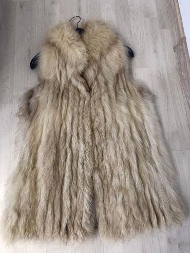 Kozni prsluk - Srbija: Prsluk od pravog krzna sibirske lisice, krzno mekano, ne linja se