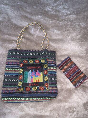 Çanta və pulqabı biryerdə 5 azn