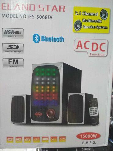 star 2 - Azərbaycan: Eland Star 2.1 akustik sistemi ( səs cihazı, multimedia aparatı