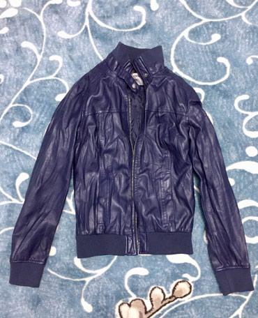 темно синее в Кыргызстан: Куртка темно синяя, отличное состояние, размер S-M