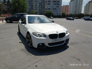 bmw-5-серия-518-mt - Azərbaycan: BMW 5 series 2 l. 2014 | 49000 km
