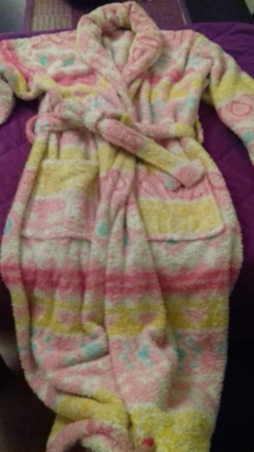 Bade mantil,malo nošem,univerzalna velicina,dugačak,zimski - Kragujevac