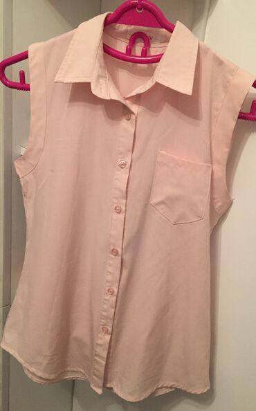 Рубашка бледно розового цвета