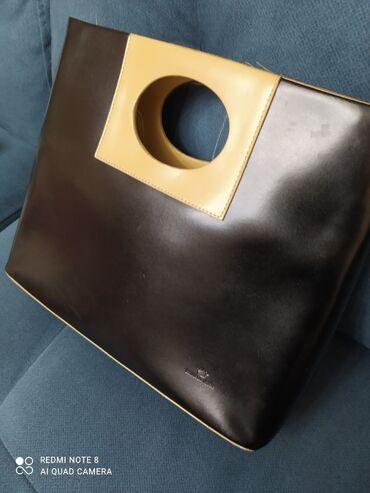 Продаю новая сумочка- кожа. очень удобный размер и