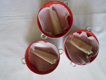 Tri komada novih keramičkih činijica sa kašičicom i natpisom Coca - Belgrade