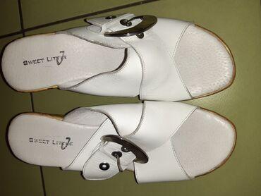 148 oglasa | OSTALA ŽENSKA OBUĆA: Nove bele papuce