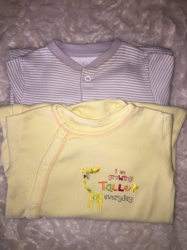 Babygrows. 0-3 months. Excellent condition. 6 euros. σε Νέα Σμύρνη