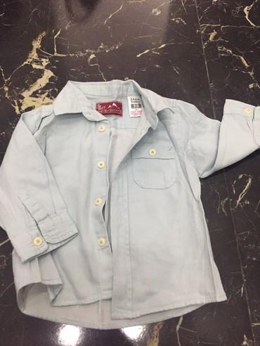 - Azərbaycan: Сорочка Zara baby. 6-9 месяцев
