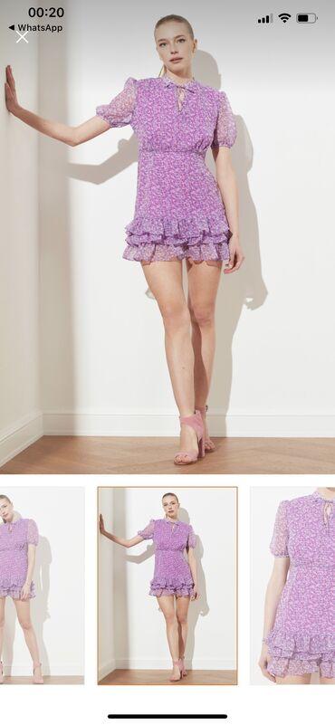 Совершенно новое шифоновое платье, качество и пошив отличное, размер «