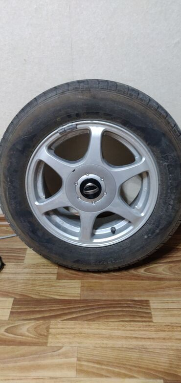 купить титановые диски на ниву в Кыргызстан: Продаю отличный комплект колес R14 в идеальном состоянии. Диски