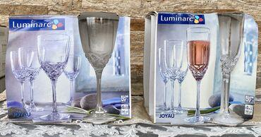 luminarc наборы посуды в Азербайджан: Luminarc fujer dəstı «Joyau» 8 ədəd  Набор фужеров Luminarc «Joyau» Ко
