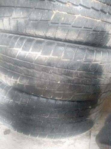 б у шины диски в Кыргызстан: Продаю коплект зимних шин на 16 б/у