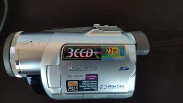 фотоаппарат panasonic lumix dmc fz50 в Азербайджан: Panasonic video kamera satilir. Cemi 2 defe istifade olunub. Ela veziy