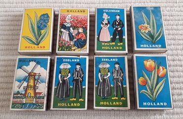 Τέχνη και Συλλογές - Ελλαδα: 8 Ολλανδικά σπιρτόκουτα δεκαετίας 1970Τα 4 από αυτά έχουν σπίρτα και