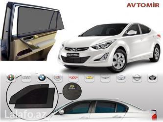 Bakı şəhərində Hyundai elantra və hər növ avtomobil üçün pərdələr.
