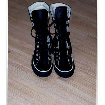 Деми ботиночки женские Converse All Star (оригинал). КОЖАНЫЕ.Размер
