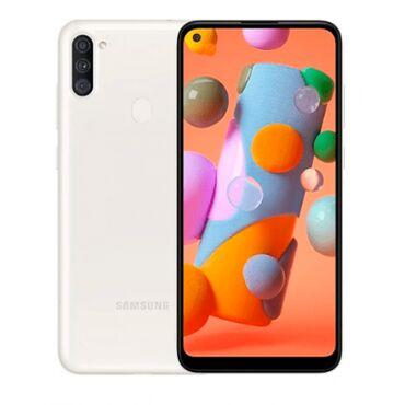 Digər nəqliyyat - Azərbaycan: Smartfon Samsung Galaxy A11 SM-A115 2/32GB WhiteПроизводитель -