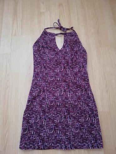 Uska haljina, pamuk elastin Sivena, odgovara broju 36 Nikada nosena - Lajkovac