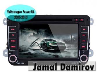 Bakı şəhərində Volkswagen Passat B6 2005-2010 üçün DVD- monitor. DVD- монитор для Volkswagen Passat B6 2005-2010. DVD- monitor for Volkswagen Passat B6 2005-2010.