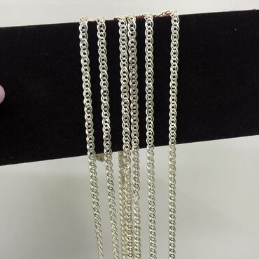 Серебро цепочки в розницу и оптом по низким ценам!Серебро 925