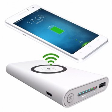 Powerbank:20000mAhInput:DC5V/2.1AUSB Output:DC5V/2.1AWIRELESS