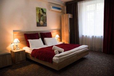 Маленький отель в районе Филармонии. Тихо, уютно, тепло, чисто. Сутки  в Бишкек