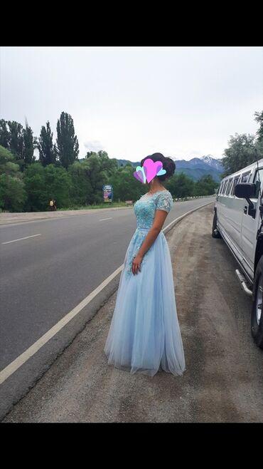 вечернее платье 44 размер в Кыргызстан: Продаю нежное платье ) Состояние идеальное, размер 42-44) 3000