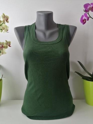 Boje-zenska - Srbija: Intimissimi zenska majica, zelene boje.Materijal: PamukVelicina