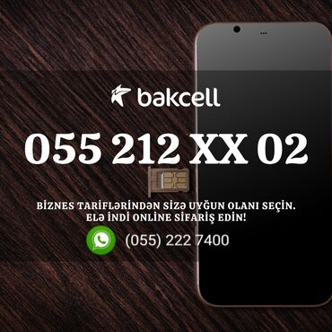 bakcel nomreler - Azərbaycan: Bakcell Biznes tarif ilə tanış olun!Aylıq abunə haqqı 25