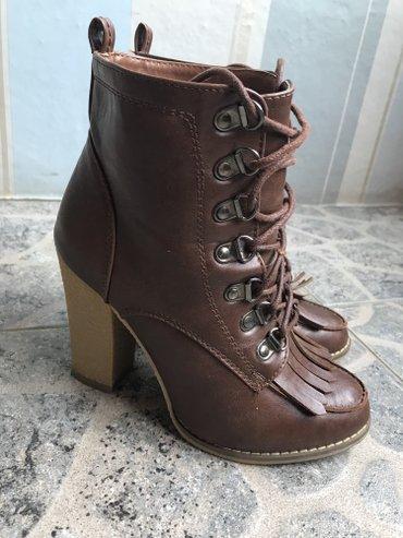 Braon cizme u broju 36 😃😃 - Pirot