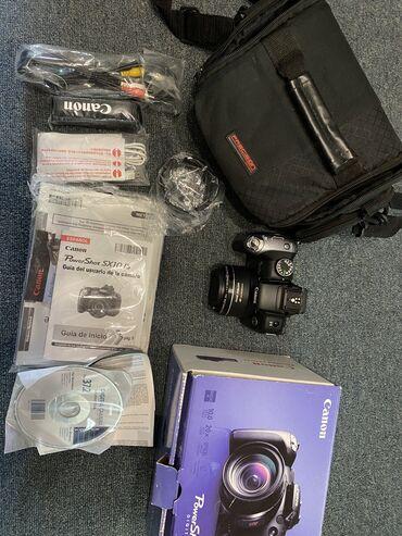 фотоаппарат зоркий в Азербайджан: Canon sx10 is  Полный комплект. Идеальное состояние