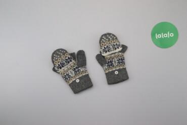 Жіночі рукавички з візерунком    Довжина: 18 см Ширина: 8 см   Стан га