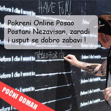Dajem besplatno - Srbija: Internet posao od kuce(MLM)Radi se o internet poslu u okviru americke