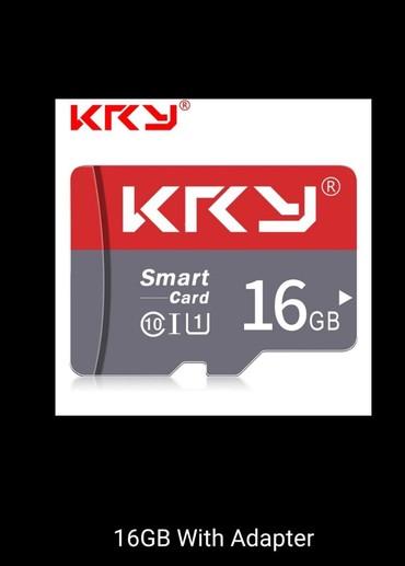micro-sd - Azərbaycan: 16 GB Mikro kard SD - 100 % Orijinal / KRYMicroMikroCardKardSDTel