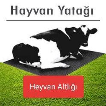 Heyvanlar - Qax: Heyvan altlığı- Heyvan yatağıFerma ucun istifade edilen ve 1 yil