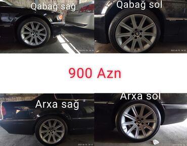 kumho baku - Azərbaycan: Bmw 740 disklər çatsız svarkasız r19 satılır əla kimidir