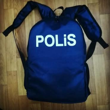 Bakı şəhərində Polis cantasi,real wekillidir,goy reng,keyfiyetlidir.