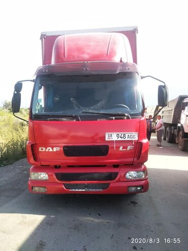 Грузовой и с/х транспорт в Беловодское: Продаю даф 5 тонник объем 6 кубов 6 ступка горный тормоз со спальником