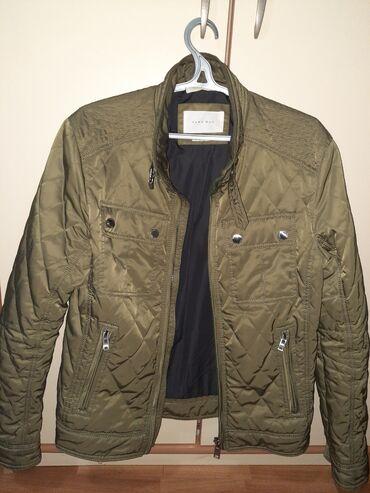 Velic da - Srbija: Muska zara man jakna, obucena jednom za slikanje, M velicina, ali
