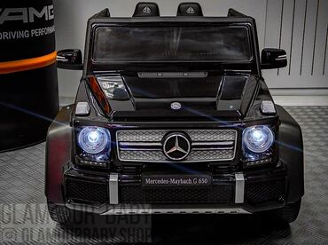Детские машинки электромобили - Кыргызстан: Детская машинка электромобиль Mercedes Maybach G650 Landaulet   гарант