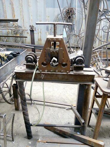 Другие инструменты в Кыргызстан: Трубогиб для профильной трубы, до 40*20мм, ручной, 14000