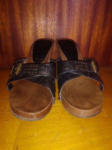 Elegantne majice - Backa Topola: Braon papuče/nanule broj 39Papuče su par puta nošene, lepo su očuvane