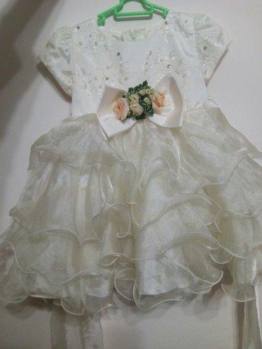 нарядное платье на девочку 3х лет.Очень нарядное 😍😍😍 в Бишкек