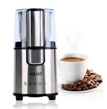 кофемашина в Кыргызстан: Кофемолка Sokany SM-3020S. -Тип: кофемолка - Мощность: 200 Вт -
