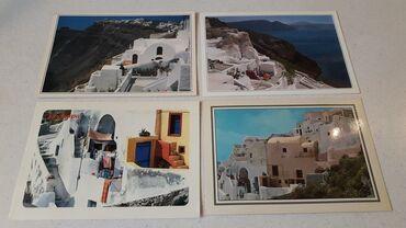 25 Καρτ - Ποστάλ παλαιές ( δεκαετίας '70 - '80 ) άγραφες από Σαντορίνη