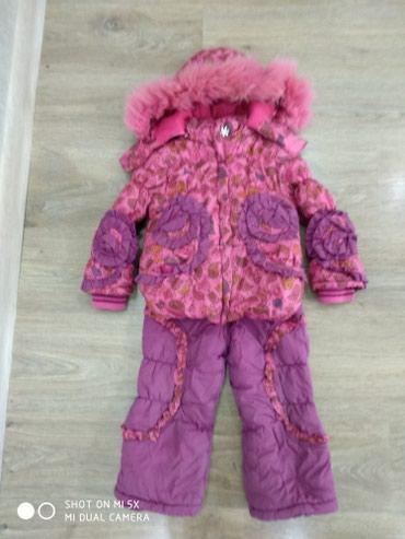 Теплый зимний комбинезон.Примерно на 2-3 года.86 см в Бишкек