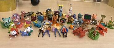 Продаю игрушки из под киндеров около 45 штук