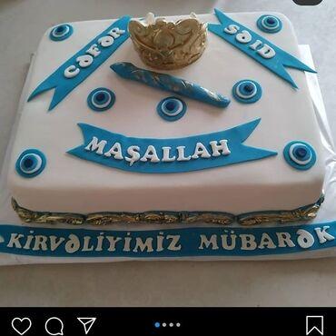 tortlar - Azərbaycan: Digər dekorda tortlar sifariş edə bilərsiniz